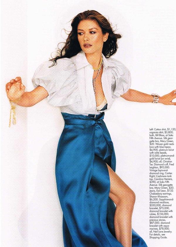 Elle: Catherine Zeta Jones | Pati PREMA Dubroff Renee Zellweger