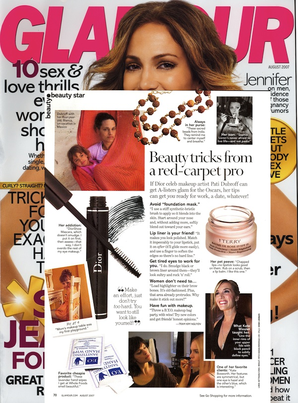 PD GLAMOUR AUG07 Glamour:  Beauty Star