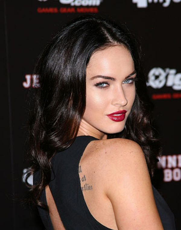 0724 megan fox red bd1 Megan Fox Jennifers Body Premiere