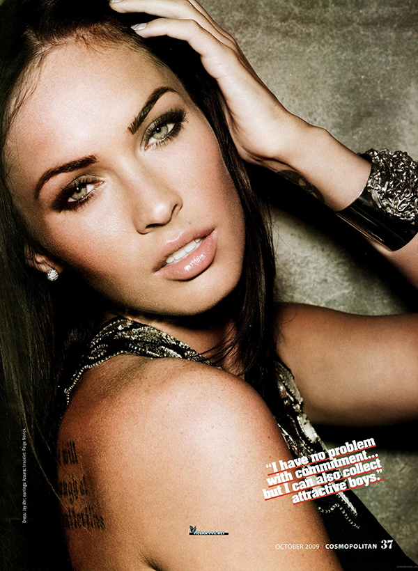 megan fox cosmo31 Megan Fox beauty