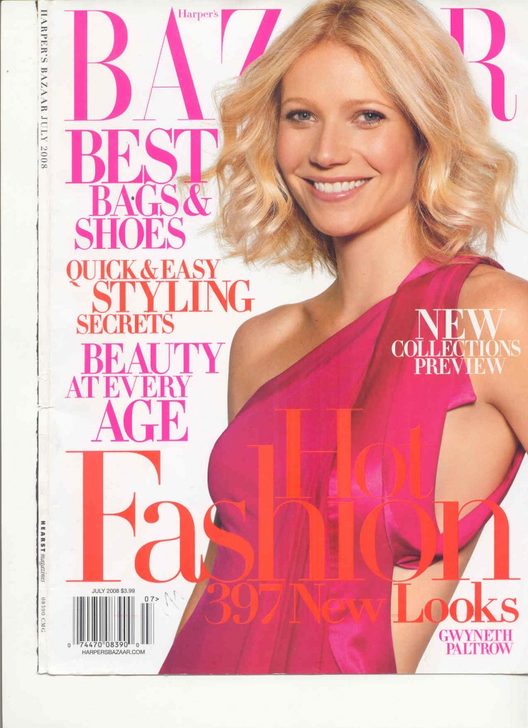 covers12 743x1024 Gwyneth Paltrow Bazaar