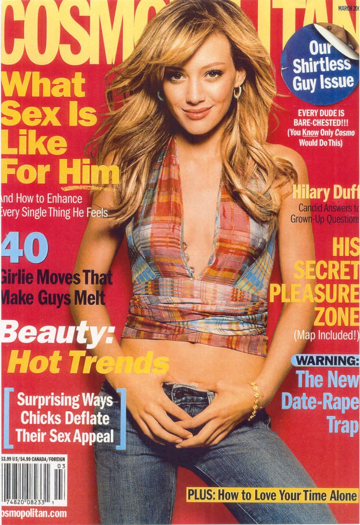 hd1 702x1024 Hilary Duff Cosmo