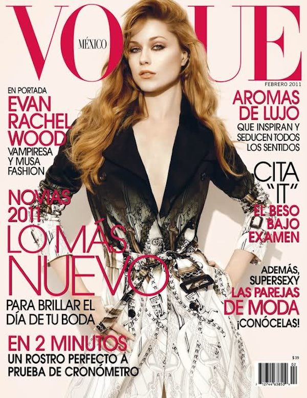 2akd3yr Latin Vogue:  Evan Rachel Wood