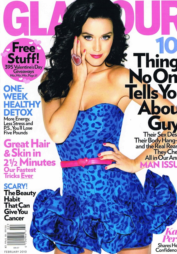 Glamour Matthias Vriens McGrath Katy Perry Feb 2010 Glamour:  Katy Perry