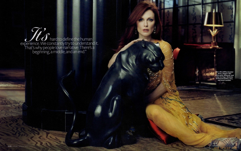 instyle us march 2011 julianne moore 4 Julianne Moore In Style