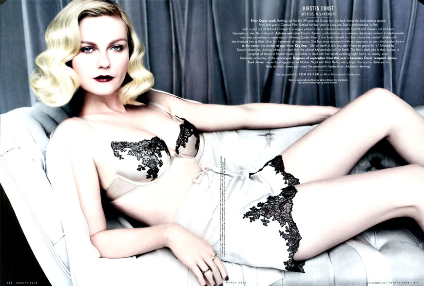 kirsten Kirsten Dunst: Vanity Fair