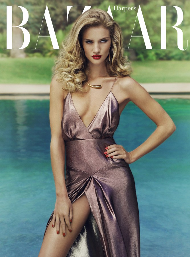 photo 11 UK Bazaar:  Rosie Huntington Whiteley