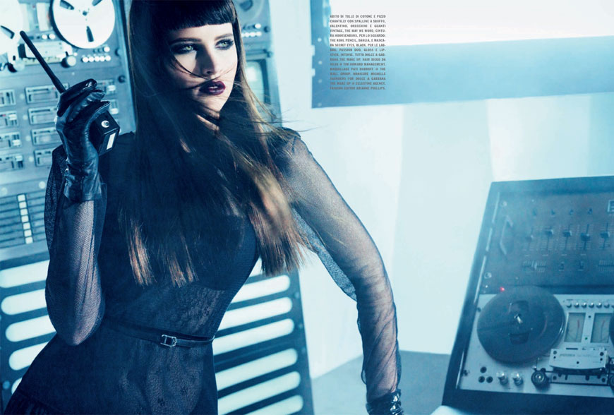 felicity jones Felicity Jones: Vogue Italia