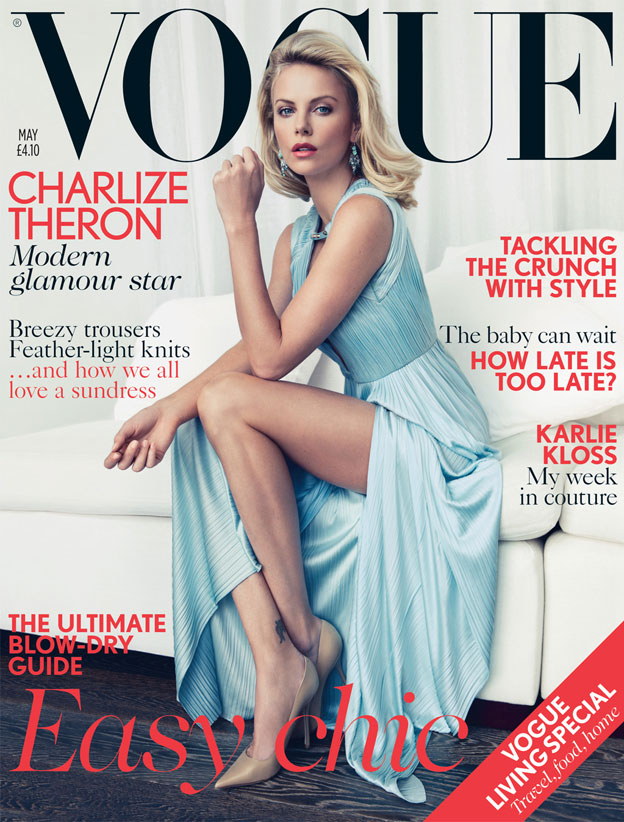 vogue charlize Vogue UK: Charlize Theron