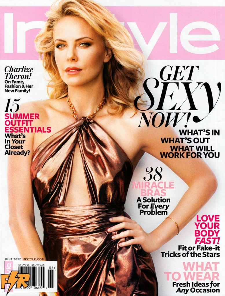Charlize Theron InStyle Cover 777x1024 Charlize Theron: In Style