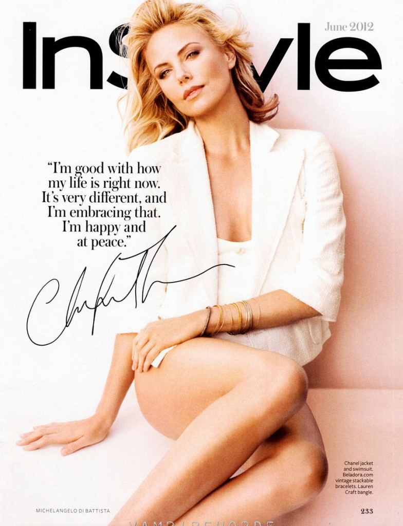 Charlize Theron InStyle Scans 784x1024 Charlize Theron: In Style